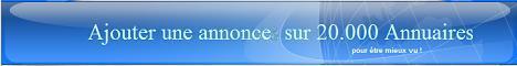 ANNONCES SUR 20000 ANNUAIRES