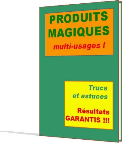 produits magiques multi-usage