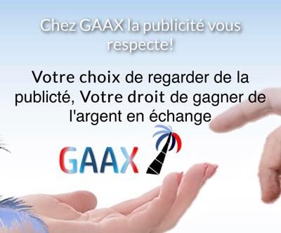 GAXX GAGNER DE L'ARGENT EN REGARDANT DES PUBLICITES